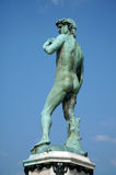 Statue of Michelangelo's David royalty free stock photography
