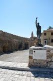 Statue  of Miguel de Cervantes Royalty Free Stock Photo