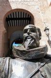 Statue of Miguel de Cervantes Stock Image