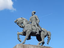Statue Of Mihai Viteazu. In Cluj Napoca, Romania Royalty Free Stock Photo