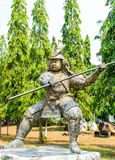 Statue military. From china stock image