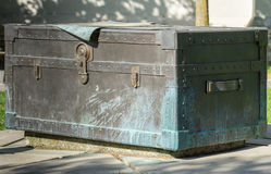 Statue of Military trunk near Beatty Street Drill Hall. Stock Photos