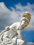 Statue Minerva (Athena) in Park Sanssouci, Potsdam, Germany Royalty Free Stock Image