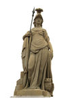 Statue of Minerva on the Old Bridge of Heidelberg Royalty Free Stock Image