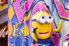 Statue of Minions Stock Images