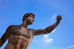 Statue in Mirabell garden Stock Image