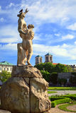 Statue in Mirabell garden Stock Photo