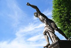 Statue in the Mirabell Gardens in Salzburg ,Austria Stock Photos