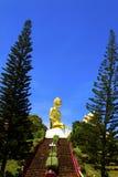 Statue mit Kiefer Lizenzfreies Stockbild