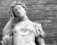 Statue mit Kopfschmerzen Lizenzfreies Stockbild