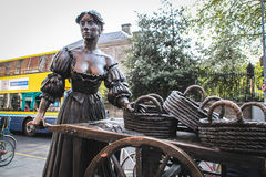 Statue of Molly Malone, Dublin Stock Image