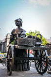 Statue of Molly Malone, Dublin Stock Photo