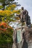 Statue of Monk Shodo Shonin Stock Photos