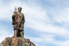 Statue of Monk Shodo Shonin Royalty Free Stock Image