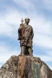 Statue of Monk Shodo Shonin Stock Images