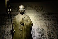 Statue of monk Xuanzang Royalty Free Stock Photos