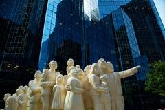 Statue in Montreal in Kanada Lizenzfreie Stockbilder
