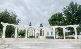 The Statue (Monument) of the national poet Mihai Eminescu, Constanta, Romania Stock Photo