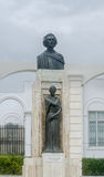 The Statue (Monument) of the national poet Mihai Eminescu, Constanta, Romania Royalty Free Stock Photography
