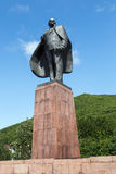 Statue monument to Vladimir Ilyich Ulyanov (Lenin) Royalty Free Stock Photography