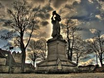 Statue, Monument, Tree, Sky stock photography