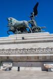 Statue from the,monument of Vittorio Emanuele II on the the Piazza Venezia, Rome, Italy Stock Photo