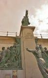 Statue monumentale de leopold de roi la deuxième Photos stock
