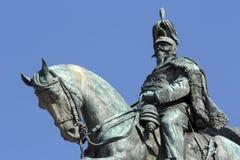 Statue on Monumento a Vittorio Emanuele II in Piazza Venizia, Ro Royalty Free Stock Images