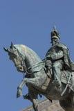 Statue on Monumento a Vittorio Emanuele II in Piazza Venizia, Ro Stock Photo