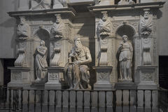 Statue of Moses, Michelangelo, San Pietro in Vincoli. Rome, Ital Royalty Free Stock Photos