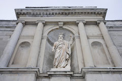 Statue of moses, sacro monte, varese Royalty Free Stock Photo