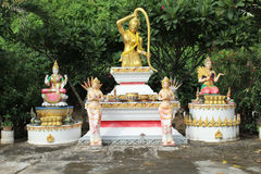 Statue of Mother Earth In Thailand. Statue of Mother Earth Buddhism Stock Photography