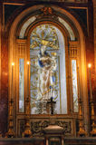 Statue of Mother of God in Cathedral of Palermo. Sicilia, Italy Royalty Free Stock Photos