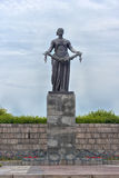 Statue of Mother Homeland Royalty Free Stock Photos
