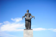 Statue of Mother Homeland in Russia Stock Images