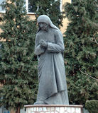 Statue of Mother Teresa in Struga,Macedonia Royalty Free Stock Photos