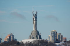 Statue  of the Motherland, in Kiev, Stock Images