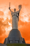 Statue of the Motherland, Kiev Stock Photo