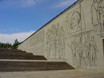 Statue Motherland, Mamayev Kurgan complex, Volgograd, Russia Stock Photo