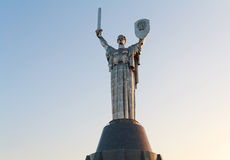 Statue Motherland in the Museum of history of Ukraine during World War II Royalty Free Stock Photography