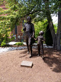Statue in Mount Airey or Mayberry in North Carolina USA Stock Images
