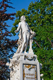 Statue of Mozart Stock Image