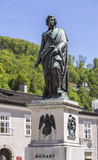 Statue of Mozart Royalty Free Stock Images