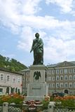 Statue of Mozart in Salzburg Stock Images