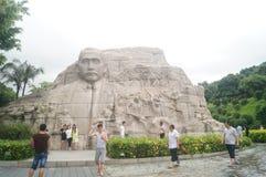 The statue of Mr. Sun Zhongshan Stock Photography