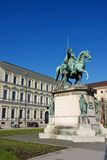 Statue in munich. Portrait of Ludwig I Royalty Free Stock Photos