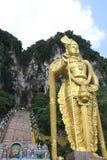 Statue of Muragan at Batu caves Stock Image