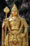 Statue of Murugan (Hindi God) Royalty Free Stock Images