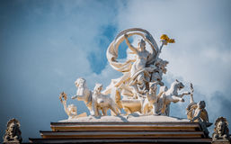 Statue of the Muse Melpomene. Odessa Opera theatre Stock Images