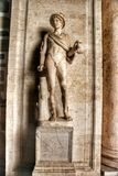 Statue in Museum Capitolini, Rome Italy Stock Images